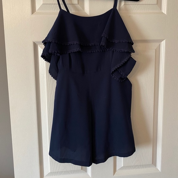 Other - Navy blue romper